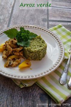 Kulinarne przygody Gatity: Arroz vedre, czyli zielony ryż