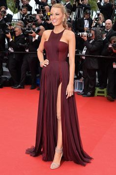blake lively in Gucci at Cannes 2014 Types Of Dresses, Nice Dresses, Amazing Dresses, Blake Lively Dress, Couture Christian Dior, Christian Louboutin, Cannes Film Festival 2014, Cannes 2014, Gucci Dress