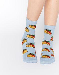Taco Ankle Socks
