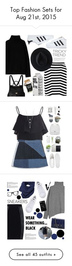 """Top Fashion Sets for Aug 21st, 2015"" by polyvore ❤ liked on Polyvore featuring adidas, A.P.C., Dolce&Gabbana, Alexander Wang, Ryan Roche, Arche, Zara, Glamorous, ASOS and Jaunt"