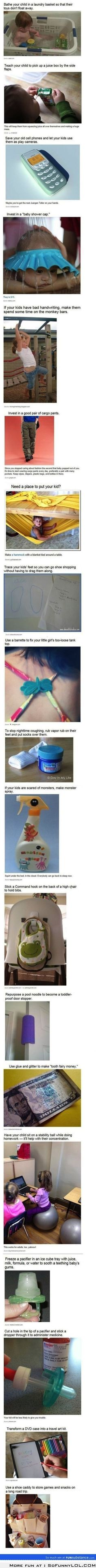 Little Parenting Life Hacks