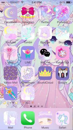 Pastel Sailor moon Homescreen -@ooh_its_jackie