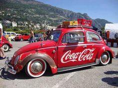 Vocho Coca Cola