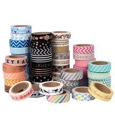 Rosie's Studio Washi Tape 10m Assorted - Craft Supplies - Art & Craft - Stationery & Office Supplies - The Warehouse