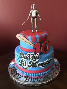 Harley Quinn Birthday Cake