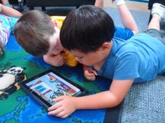 Strategies for using iPads in the 1st Grade Classroom