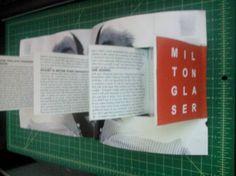 Milton Glaser magazine layout idea #2