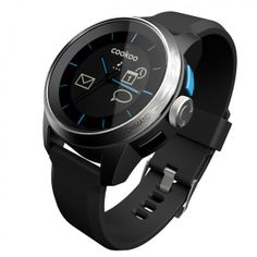 Smartwatch for iPhone iPhone and the new iPad, Bluetooth Low Energy - FREE iOS App in AppStore - color: black Apple Iphone, Iphone 4s, Iphone Watch, Buy Iphone, Best Smart Watches, Cool Watches, Watches For Men, Black Watches, Unique Watches