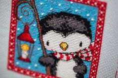 Mote: Frosty Friends Christmas Ornaments - Dimensions