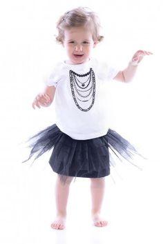 Бебешка тениска NECKLACE • Виж на: http://shopping-terapia.com/baby-fashion-126/drehi-za-bebeta-127/bebeshka-teniska-necklace-4559.html.html
