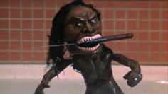 Zuni bath scene from trilogy of terror
