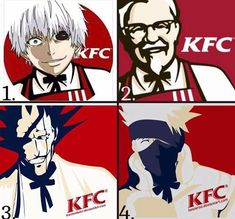 Anime and fast food is a match made in meme heaven apparently...