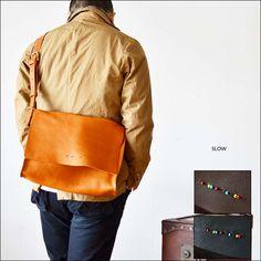SLOW flap shoulder bag