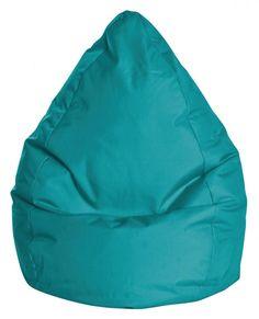XXL Sitzsack, farbintensiv und modern, wasserabweisend, leicht abwaschbar, PVC
