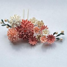 Kanzashi, Stud Earrings, Photo And Video, Instagram, Videos, Photos, Fabric Flowers, Pictures, Stud Earring