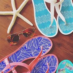 Lets Jell. Have you checked out the latest post on Color Ave? AKA our blog?  If not youre missing out! We have rounded up our pre-Memorial Day Must-Haves/Check List to get you summer-ready. One pick on our list our jelly sandals. Theyre perfect for the pool!  Blog.allforcolor.com