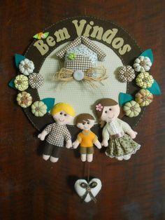 Guirlanda Personalizada - Bem Vindos