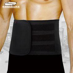 Adjustable Slimming Exercise Belt Men Women Shed Water Weight Back Brace Sports Waist Support Safety Gym Belt Back Protector