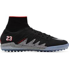 Nike Hypervenomx Proximo NJR IC SZ 9.5 Jordan Neymar Black Metallic 820118-006