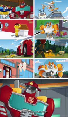 This episode was one of the funniest in the series Really Funny Memes, Funny Shit, Transformers Funny, Rescue Bots, Paw Patrol, Dumb And Dumber, Creative Art, Fanart, Geek Stuff