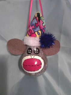 Adorable Autism Awareness Sock Monkey Lightbulb by AngelasPastime, $9.50