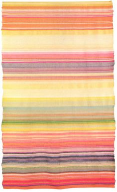 Wall hanging in striped structure Plain weave; wool and rayon 1923/25  204 x 125 cm  Copy made in 1925 by Helene Börner Original lost  Bauhaus-Museum, Weimar