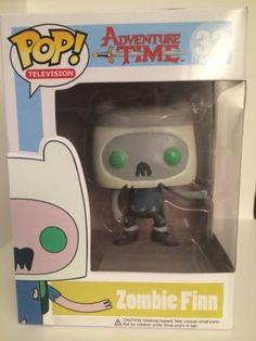 - Zombie Finn (Glow In The dark) Adventure Time - 😲 Custom Pop Vinyl, Custom Funko Pop, Teen Titans Toys, Cartoon Network, Funko Pop Display, Adveture Time, Funko Pop Toys, Pop Television, Pop Characters