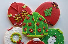 Ugly Sweater Cookies #cutefood #creative
