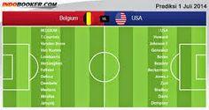 TaruhanLR - Perkiraan Hasil Akhir Pertandingan Fase 16 Besar Piala Dunia Rabu 2-07-2014 : Belgia Vs Amerika Serikat - Generasi emas Belgia m...