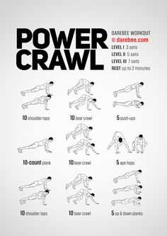 Power Crawl Workout