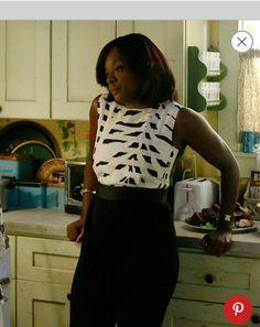 Viola Davis. B&W always works on V. #HTGAWM Annalise. Anna Mae. I want this frickin outfit!