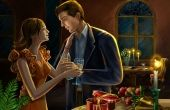 Romantic Lovers At Night HD Wallpapers 3392