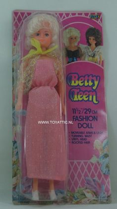 Betty Teen fashion doll Barbie sized clone doll made by M & C New in package…