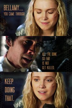 The 100 — Bellarke (the ship that takes over your life!!)