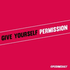 If you're seeking your best life, you have to give yourself permission to do so! One of the ways we do that is to establish our personal DO'S and DO NOTS. Holding firm to putting our love, time and energy into the people, places, and things that uplift us helps us hold fast to our big goals. You deserve success! 30daypush.com