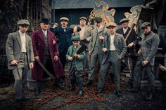 Peaky Blinders is a British historical crime drama television series starring Cillian Murphy as a gangster operating in Birmingham, England, during the aftermath of World War I.