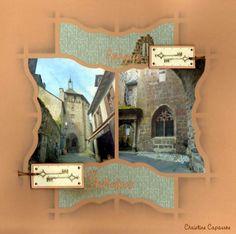 Azza - Verlaine Diy Scrapbook, Scrapbooking Layouts, Decoration, Stencils, Album Photos, Frame, Crafts, Recherche Google, East Coast