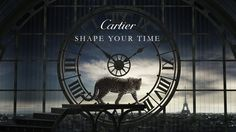 Cartier - Shape Your Time, At the Watches & Wonders Haute Horlogerie exhibition in Hong Kong from 30 Sept to 2 Oct, Cartier showcases its creative approach to watchmaking with a collection of 68 pieces. G Shock Watches, Fine Watches, Cartier Panthere, Funny Ads, Gq Men, Ring Verlobung, New Media, Motion Design, Clock