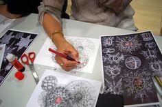 """Simmetrie. Forme artistiche della natura"", workshop curated by Annalisa Casagranda, May 2015, Mart museum"