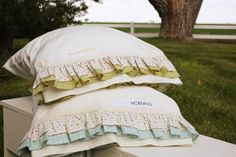 Lucy's Ruffle Pillowcase Pattern  Download by sweetwaterscrapbook
