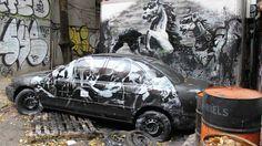 Obras originales de Banksy a 40 euros