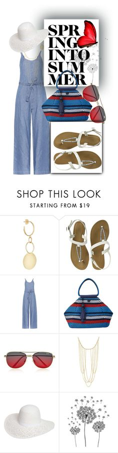 """""""Summer Sandals"""" by lustydame ❤ liked on Polyvore featuring Loren Stewart, Closed, Tory Sport, Quay, Adoriana, Dorothy Perkins and jcp"""