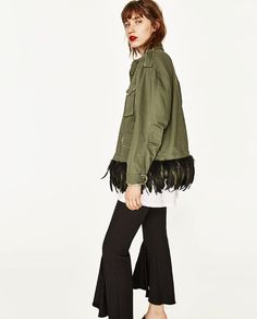 Veste camouflage femme zara