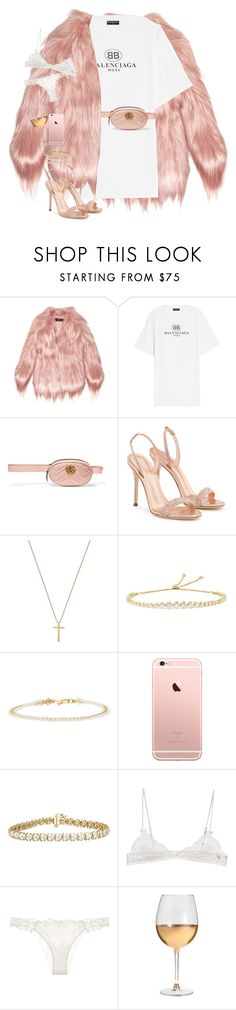 """""""i am a lover, baby."""" by nikkischeper ❤ liked on Polyvore featuring Gucci, Balenciaga, Giuseppe Zanotti, Jemma Wynne, Isabel Marant, Ermanno Scervino, La Perla and Marc Blackwell"""