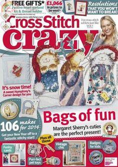Cross Stitch Crazy (UK) № 185 (январь 2014)