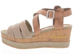 Schoenen - Napapijri: Tone | Buitenkant Espadrilles, Delicate, Wedges, Sandals, Shoes, Fashion, Espadrilles Outfit, Slide Sandals, Moda