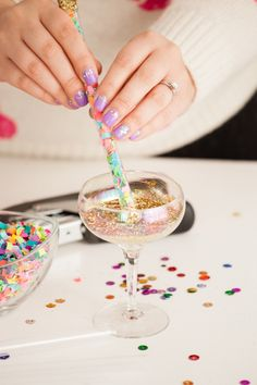 HOW TO MAKE DIY CONFETTI STICKS - Best Friends For Frosting