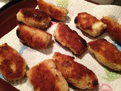 FEISTY TAPAS: Spanish recipe: Croquetas with roast chicken (Thermomix)