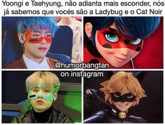 Bts Memes, Got7 Meme, Kdrama Memes, Bts Suga, Bts Bangtan Boy, K Pop, Miraculous, Cat Noir, Bts And Exo