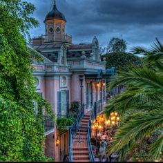 New Orleans Square is my favorite :)